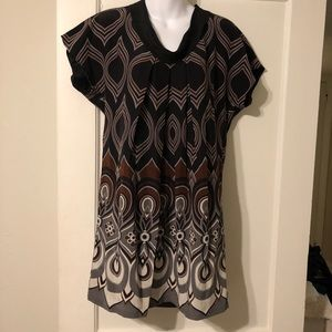Tibi Silk Tunic Dress